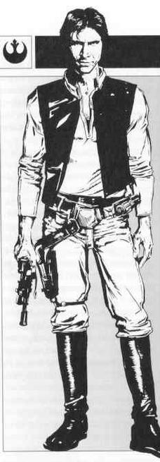 Star wars coloring book for Han solo coloring page